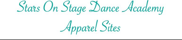 Stars On Stage Dance Academy Apparel Sites